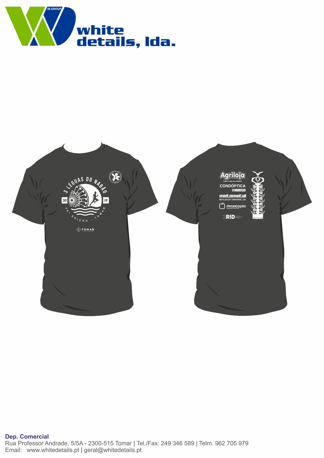 Calma Club - 3Leguas 2019 - Tshirt - maquete